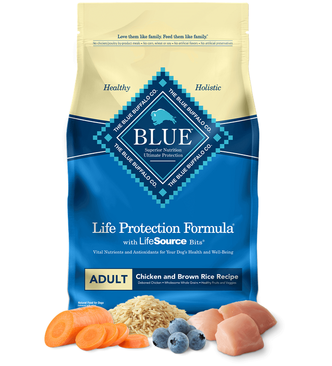 Blue Life Protection Formula™ Dry Dog Food Chicken & Brown Rice Recipe Adult Dogs