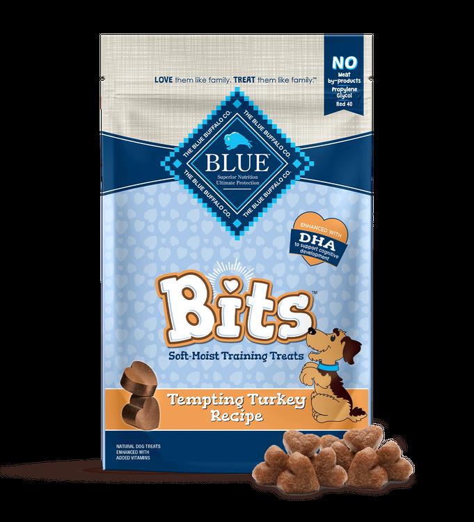 Blue Bits Dog Treats Tempting Turkey