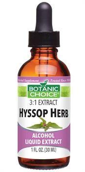 Botanic Choice Hyssop Herb Liquid Extract