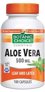 Botanic Choice Aloe Vera 500 mg.