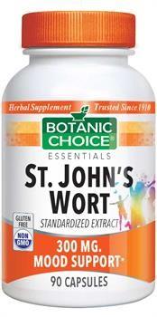 Botanic Choice St. John's Wort 300 mg.