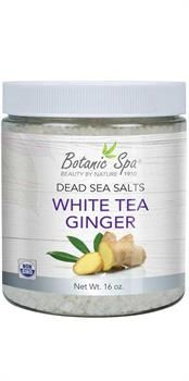 Botanic Choice Dead Sea Salts - White Tea Ginger Scented