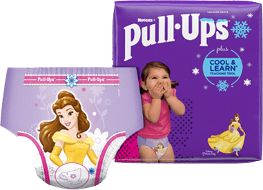 Pull-Ups® Cool and Learn® Training Pants for Girls