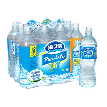 Nestlé® Pure Life® Natural Spring Water
