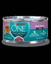 Purina ONE® True Instinct Tuna Wet Cat Food Recipe in Sauce
