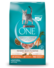 Purina ONE® Tender Selects Blend With Real Chicken Cat Food