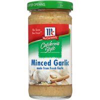 McCormick Minced Wet Garlic, 4.25 Oz
