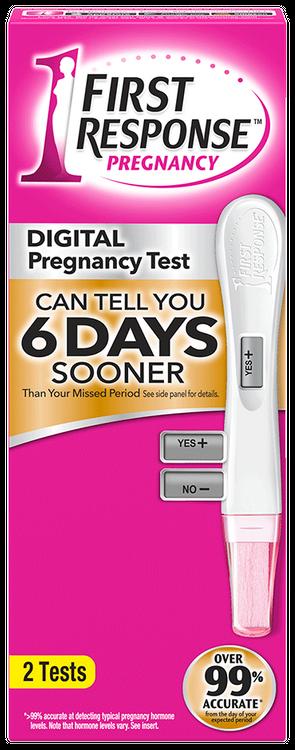 First Response™ Digital Pregnancy Test