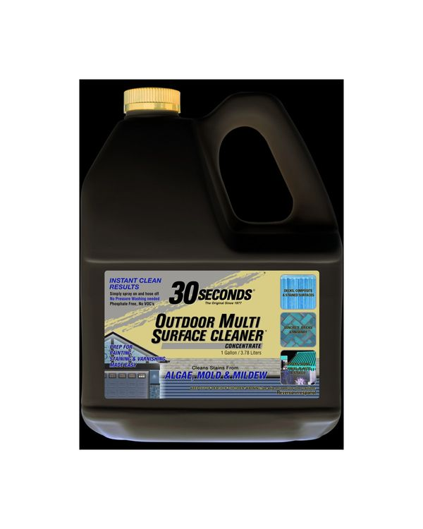 30 SECONDS Outdoor Multi Surface Cleaner Concentrate