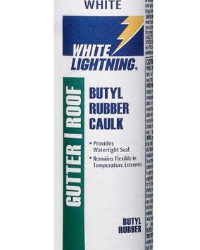 White Lightning Butyl Rubber Caulk