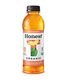 Honest Peach Oolong Tea