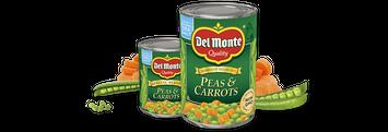Delmonte Peas & Carrots