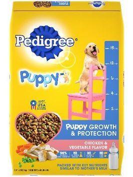 Pedigree® Dry Dog Food Puppy Chicken & Vegetable Flavor