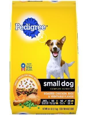 PEDIGREE® Dry Dog Food Small Dog Roasted Chicken, Rice & Vegetable Flavor