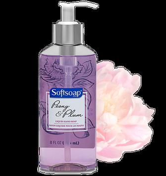 Softsoap Peony & Plum Liquid Hand Soap - 10 oz