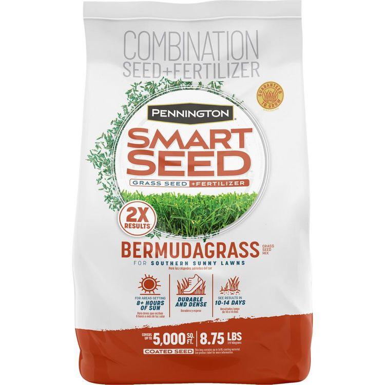 Pennington Smart Seed 8.75 lbs. Bermuda Grass Seed and Fertilizer
