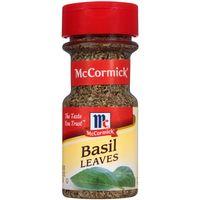 McCormick Whole Basil Leaves, 0.62 Oz