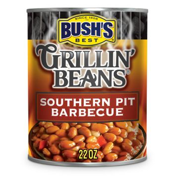 BUSH'S Southern Pit Barbecue Grillin' Beans