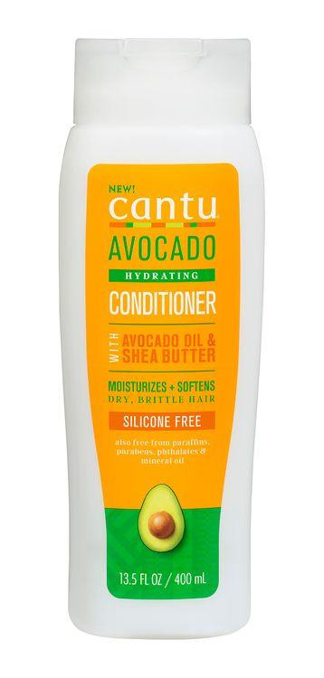 Cantu Avocado Sulfate Free Cream Conditioner with Avocado Oil & Shea Butter 13.5 oz