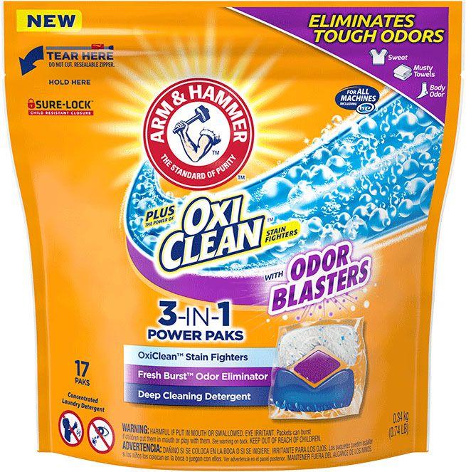 Arm & Hammer™ Plus OxiClean™ Odor Blasters, 3-in-1 Power Paks