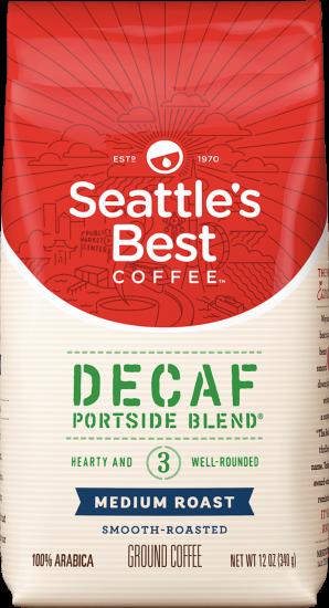 Seattle's Best Coffee Portside Blend® Deacf - Ground Coffee