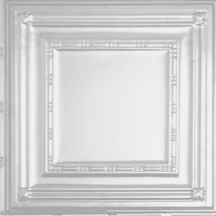 Drop Ceiling Tiles: Shanko Building Materials 2 ft. x 2 ft. Lay-in Suspended Grid Ceiling Tile in Powder-Coated White (24 sq. ft. / case) W504 2-c