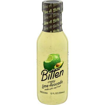 Bitten Creamy Lime Avocado Salad Dressing, (12 oz. Bottle)