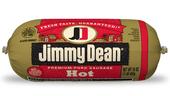 Jimmy Dean Premium Pork Hot Sausage