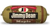 Jimmy Dean Premium Pork Maple Sausage