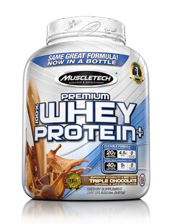 MuscleTech Premium 100% Whey Protein Plus - Triple Chocolate (5 lbs)