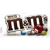 M&M'S White Chocolate Singles Size Candy ,1.41 oz