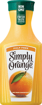 Simply Orange Pulp Free