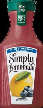 Simply Lemonade w/ Blueberry