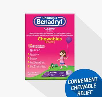 Children's BENADRYL® Chewables