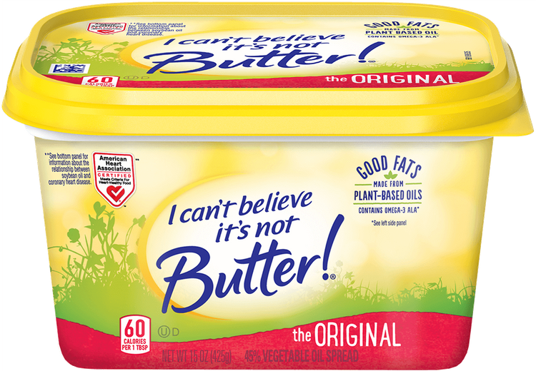 I Can't Believe It's Not Butter The Original
