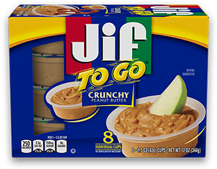 Jif To Go ® Crunchy Peanut Butter
