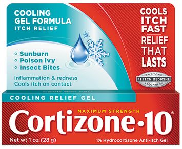 Cortizone 10 Cooling Relief Gel 1 oz.
