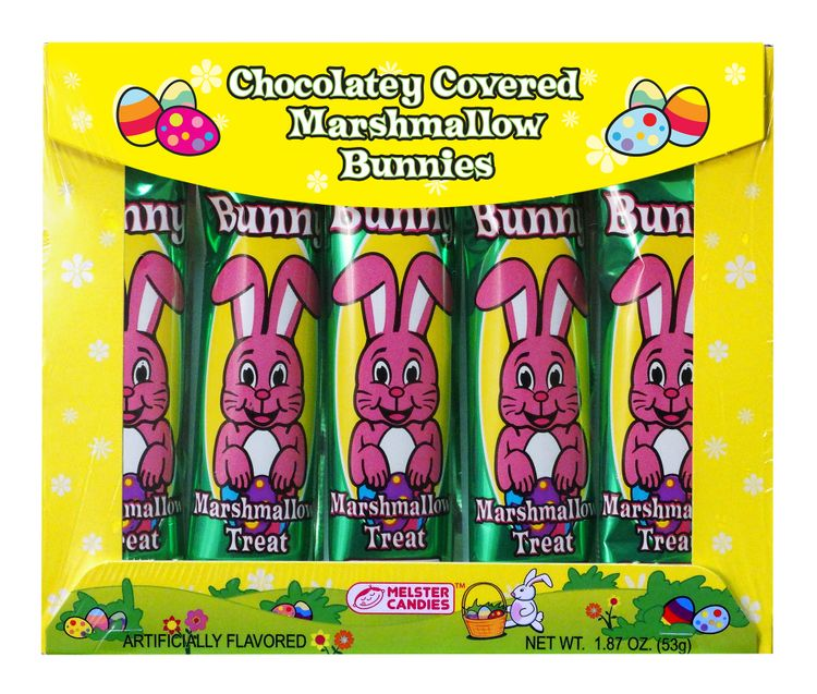 Chocolatey Covered Marshmallow Bunnies