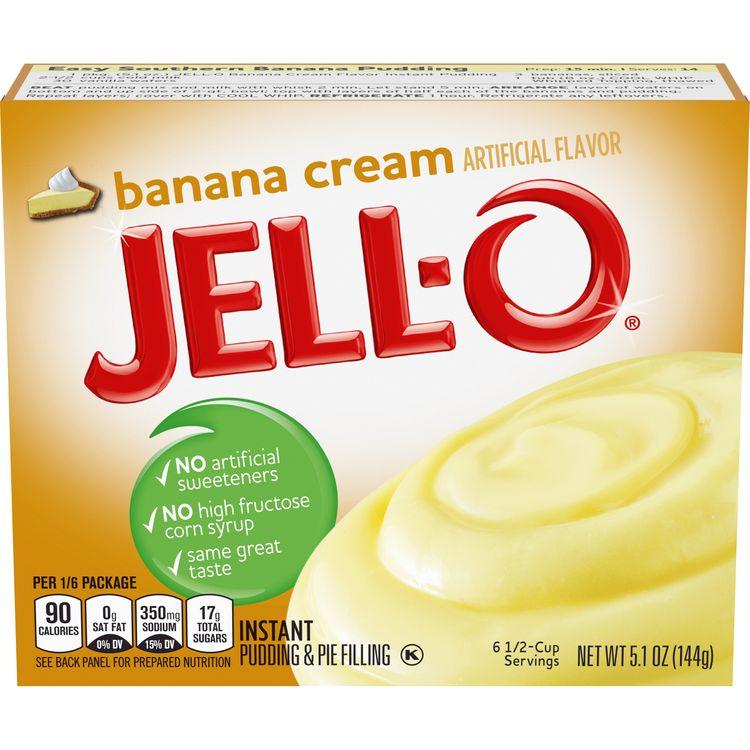 Jell-O Banana Cream Instant Pudding Mix