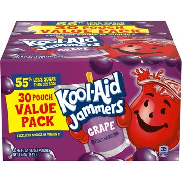 Kool Aid Jammers Grape Artificially Flavored Drink