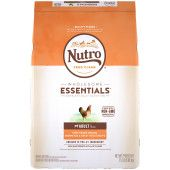 NUTRO WHOLESOME ESSENTIALS Adult Natural Dry Dog Food Farm-Raised Chicken, Brown Rice & Sweet Potato Recipe