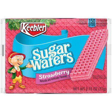 Keebler Strawberry Sugar Wafers