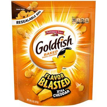Pepperidge Farm® Goldfish® Flavor Blasted® Xtra Cheddar Crackers
