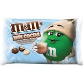 M&M'S Hot Cocoa Milk Chocolate Christmas Candy, 8-Ounce Bag