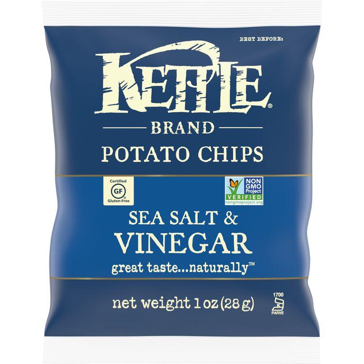 Kettle Brand® Potato Chips, Sea Salt and Vinegar Kettle Chips