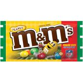 M&M's NFL Peanut Chocolate Sharing Size Candy 3.27 Ounce