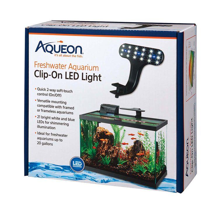 Aqueon Clip-On LED Light One Size