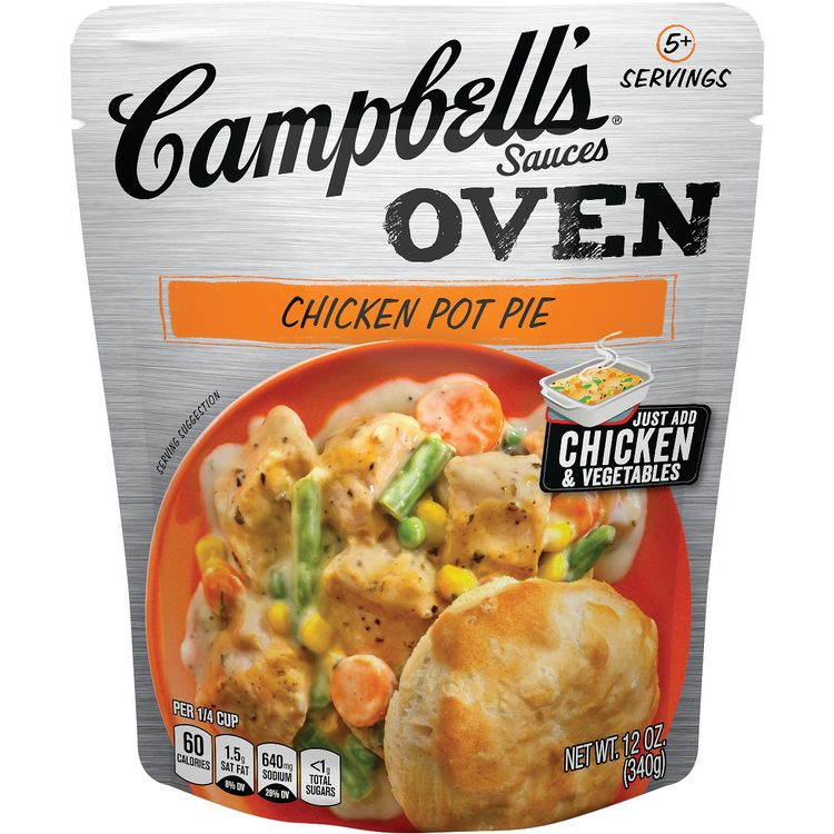 Campbell's® Oven Sauces Chicken Pot Pie, 12 oz.