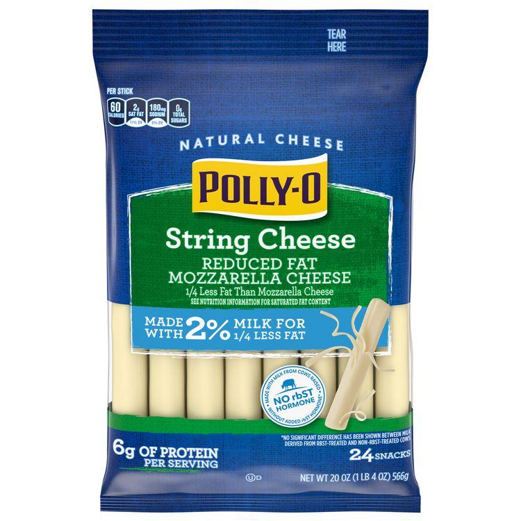 Polly-O Reduced Fat Mozzarella String Cheese