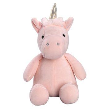 Lambs & Ivy Rainbow Unicorn Pink/Gold Plush Unicorn Stuffed Animal - Pearl